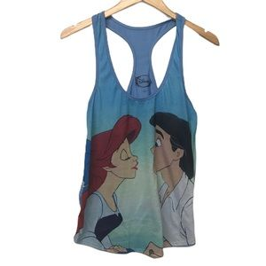 Little Mermaid and Prince Eric XL Tank